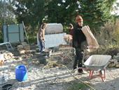 workshop holzbackofen und pizza fen selberbauen unter anleitung im seminar. Black Bedroom Furniture Sets. Home Design Ideas