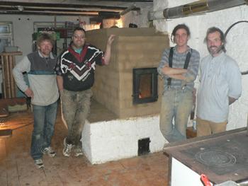 seminar und workshop lehmofen grundofen selber bauen. Black Bedroom Furniture Sets. Home Design Ideas