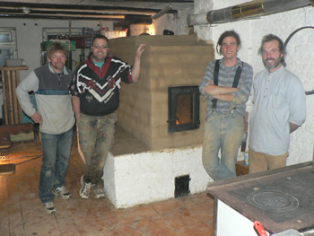 Holzofen bauen